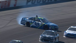 Jimmie Johnson crashes out early | 2017 POCONO