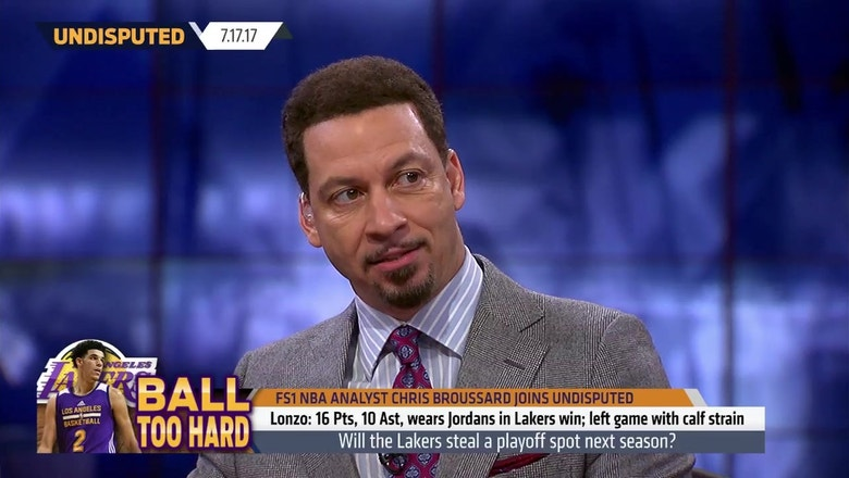 Chris Broussard responds to Skip's prediction the Lakers will make the playoffs   UNDISPUTED