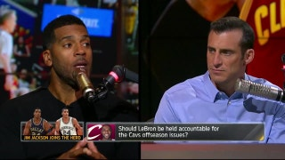 Is LeBron James' championship window closing in Cleveland? | THE HERD