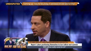 Chris Broussard breaks down how LeBron to the Lakers could make sense -- in one specific scenario | UNDISPUTED