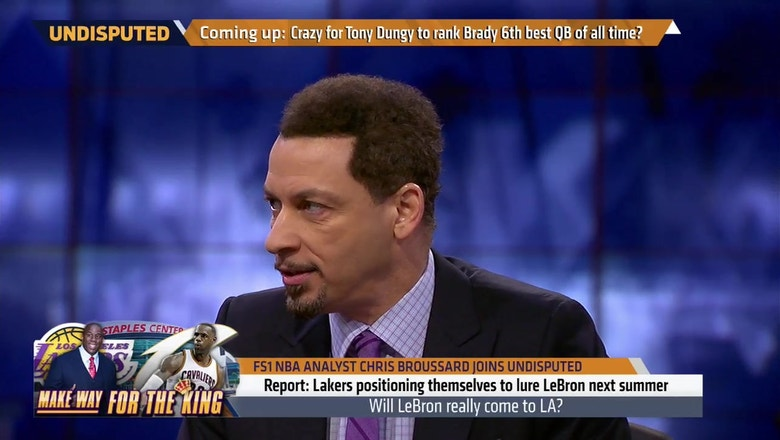 Chris Broussard breaks down how LeBron to the Lakers could make sense -- in one specific scenario   UNDISPUTED