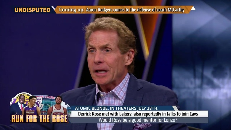 'Wrong guy, wrong place, wrong time': Skip Bayless on Derrick Rose as a Laker   UNDISPUTED