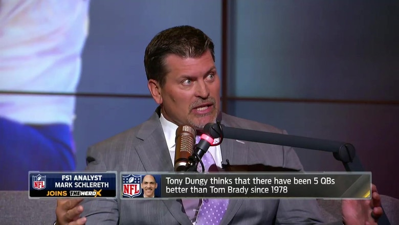 Mark Schlereth thinks Tony Dungy ranking Tom Brady the No. 6 QB since 1978 is 'ridiculous' | THE HERD