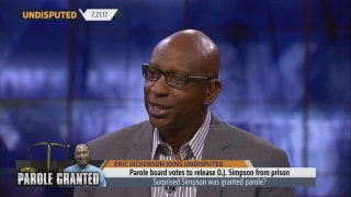Hall of Famer Eric Dickerson offers his thoughts on O.J. Simpson being granted parole | UNDISPUTED