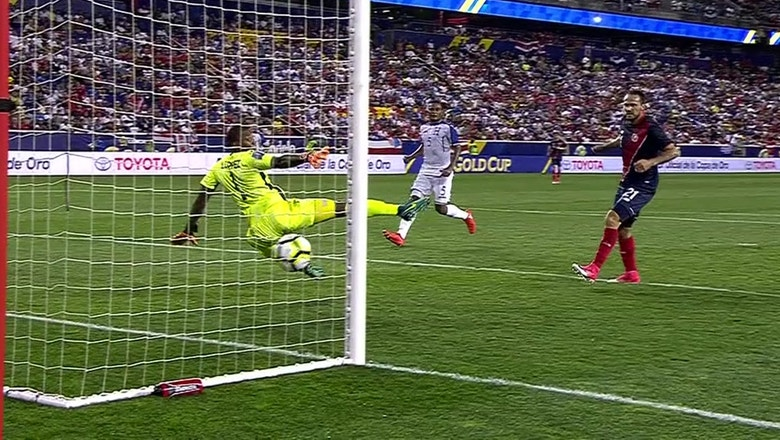 Marcos Urena volley puts Costa Rica in front vs. Honduras | 2017 CONCACAF Gold Cup Highlights