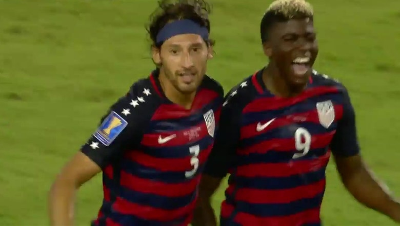 Omar Gonzalez gives USA the lead against Martinique   2017 CONCACAF Gold Cup Highlights