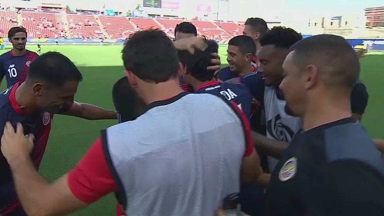 Ariel Rodriguez gives Costa Rica an early lead vs. French Guiana | 2017 CONCACAF Gold Cup Highlights
