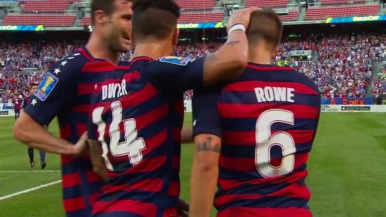 Kelyn Rowe makes it 2-0 for USA against Nicaragua | 2017 CONCACAF Gold Cup Highlights