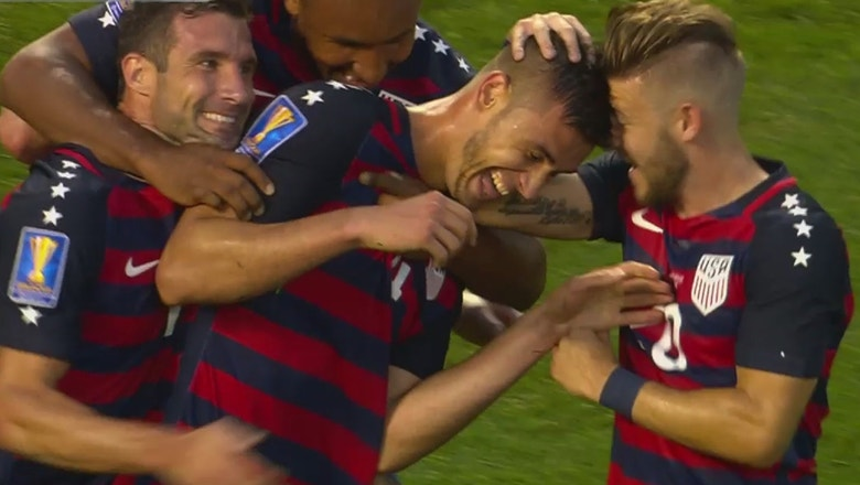 USMNT drops hammer on Nicaragua to win group, advance to Gold Cup quarterfinals