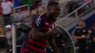 Watch Jozy Altidore's long-range free kick to open the scoring for the USMNT vs. Jamaica | Gold Cup Highlights