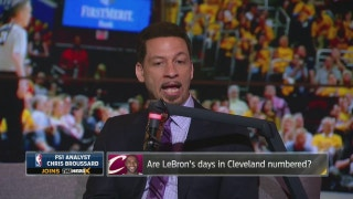 Chris Broussard doesn't buy all the LeBron James rumors | THE HERD