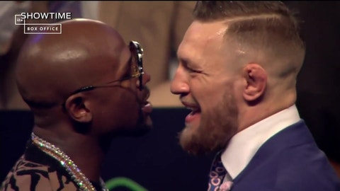 VIDEO: Conor McGregor is getting deeper and deeper under Floyd Mayweather's skin