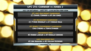 UFC 214: Daniel Cormier vs. Jon Jones 2