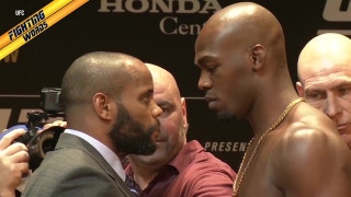 Jon Jones and Daniel Cormier give a play-by-play of their face-off