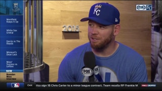 Brandon Moss happy to be contributing to Royals' success
