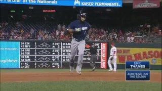 WATCH: Brewers bring Home Run Derby to D.C.