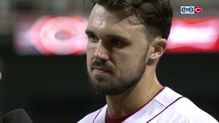 Reds' Adam Duvall describes first career walk-off hit