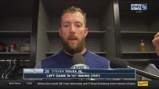 Steven Souza Jr. explains what happened on awkward slide