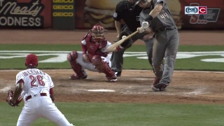 Mercy! Reds' Iglesias hits 101 MPH to strike out Goldschmidt