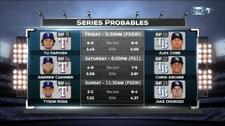 Series Probables in Tampa Bay | Rangers Live