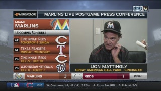 Don Mattingly: This was a well-pitched game all around