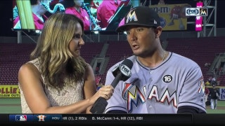 Miguel Rojas feeling recharged, refreshed back with Marlins