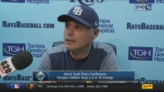 Kevin Cash on letting game slip away: 'This is a very, very tough loss'