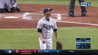HIGHLIGHTS: Alex Cobb's successful 4th inning