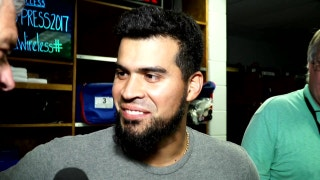 Robinson Chirinos talks double play in 10th, win over Rays