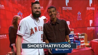 Angels Live: Matt Shoemaker provides shoes to kids in need