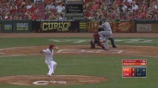 WATCH: J.T. Realmuto blasts 2 big 2-run homers against Reds