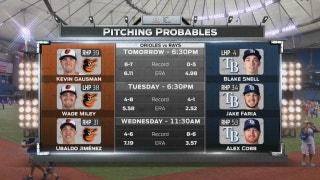 Blake Snell starts as Rays kick things off vs. Orioles