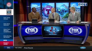 Elvis Andrus against Tampa Bay | Rangers Live