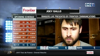 Joey Gallo provides offence, defense in win over Rays