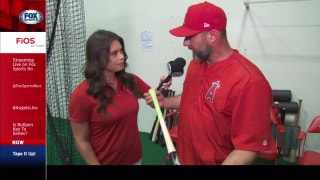Angels Live: Alex Curry speaks with Angels hitting coach Dave Hansen about MLB's new bat-grip craze