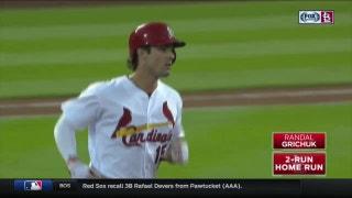 WATCH: Grichuk homers for fourth straight night, Martinez slugs pinch-hit homer