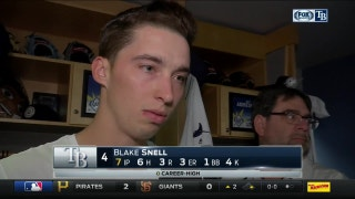 Blake Snell: I just have to keep this going
