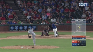 WATCH: Adrian Beltre gets 4th hit in 9th inning vs. Marlins