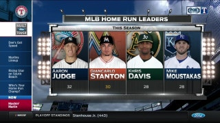 2017 MLB Home Run Leaders | Rangers Live