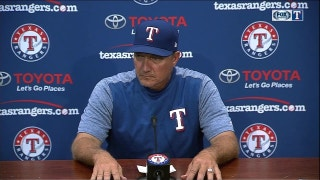 Jeff Banister talks shutout loss to Marlins
