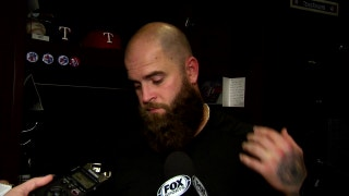Mike Napoli on shutout: 'It's just one of those nights'