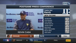 Kevin Cash: Nothing seems to get to Jake Faria