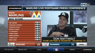 Don Mattingly: 'Hopefully this is a momentum builder'