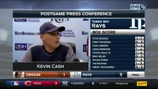 Rays manager Kevin Cash effusive in his praise for Alex Cobb