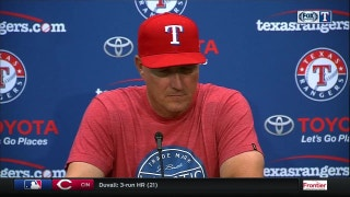Jeff Banister on Adrian Beltre getting ejected