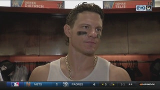 Derek Dietrich: 'We got enough to win tonight, and that's all that matters'