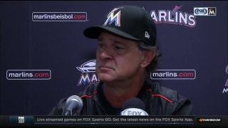 Don Mattingly reacts to Thursday's win over the Reds