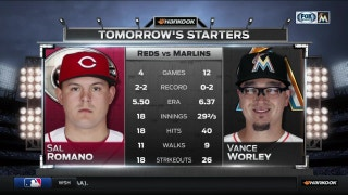 Vance Worley on mound for wrestling night at Marlins Park