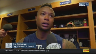 Tim Beckham: 'All we can do is bounce back'