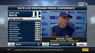 Kevin Cash: 'It would've been a nice win but things didn't go our way'